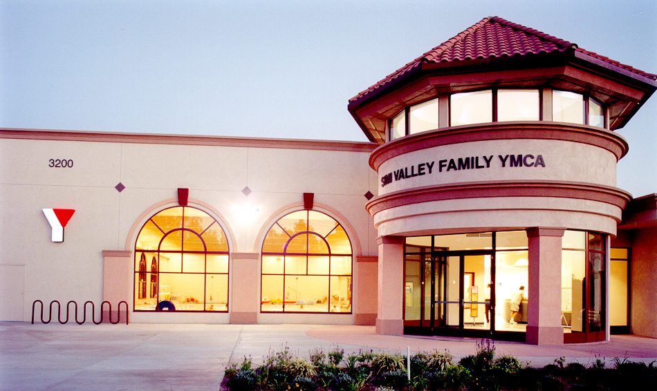 YMCA Simi Valley Exterior Front Entrance MATT Construction