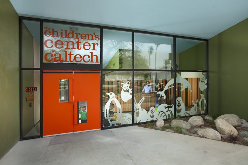 MATT construction Caltech Childcare Center Exterior Front Entrance