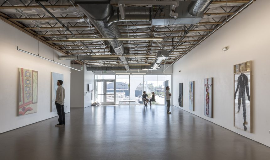 MATT construction Art Center College 870 South Raymond Interior Gallery space