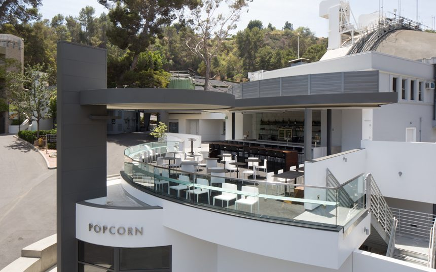 Hollywood Bowl Bar exterior aerial