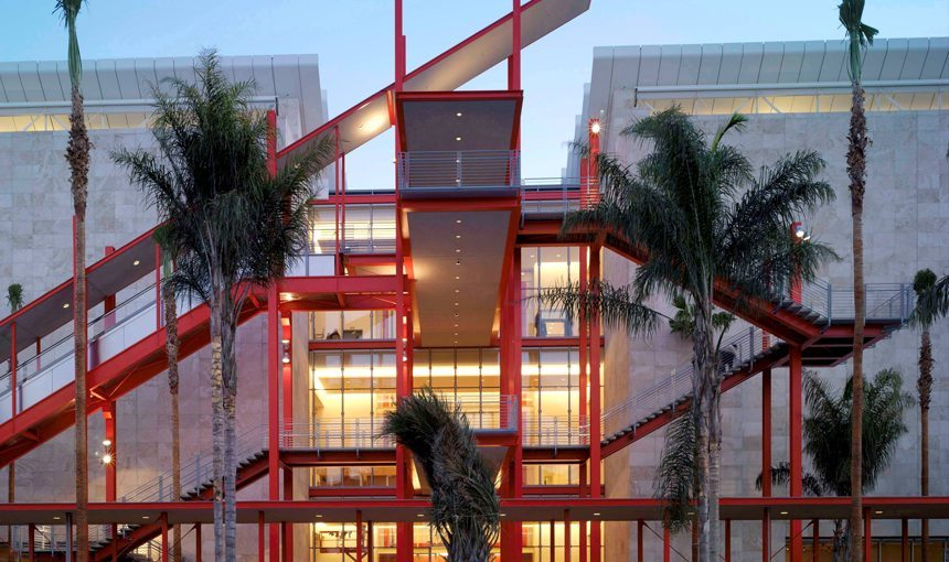 BCAM at LACMA Exterior Front Red