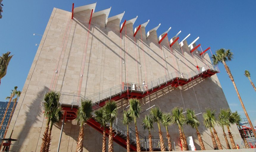 BCAM at LACMA Exterior Side Stairs