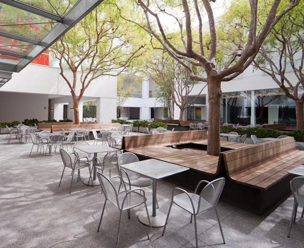 The Hammer Museum Exterior Patio