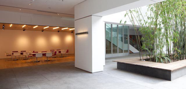 The Hammer Museum Interior Lobby
