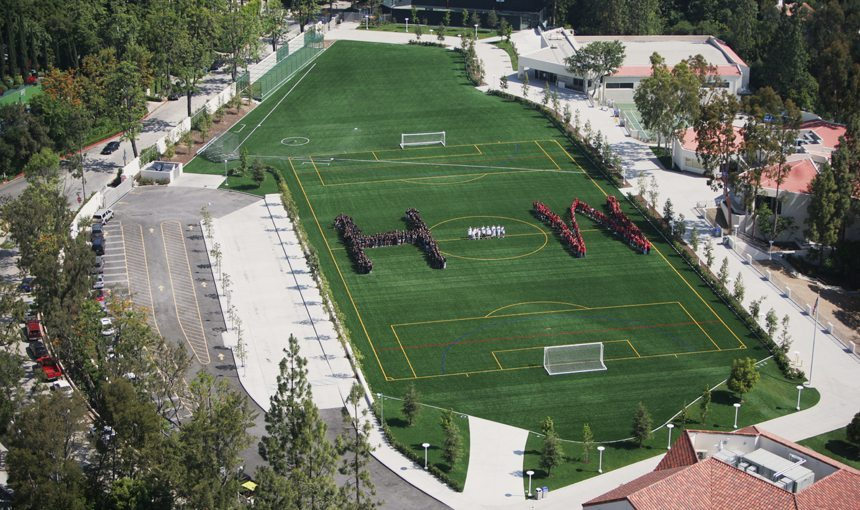 Harvard Westlake Middle School Athletic Field