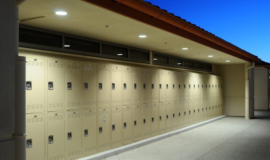 MATT construction Harvard Westlake Middle School Exterior Lockers