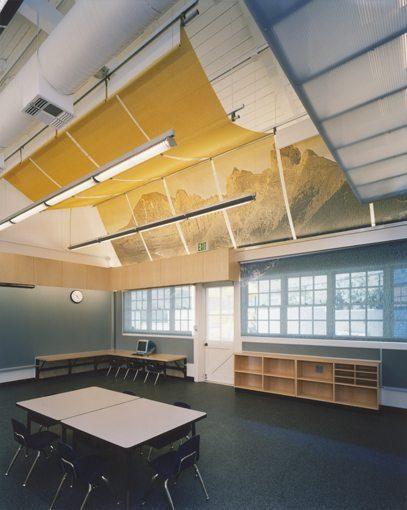 MATT construction John Thomas Dye School Los Angeles Interior Classroom