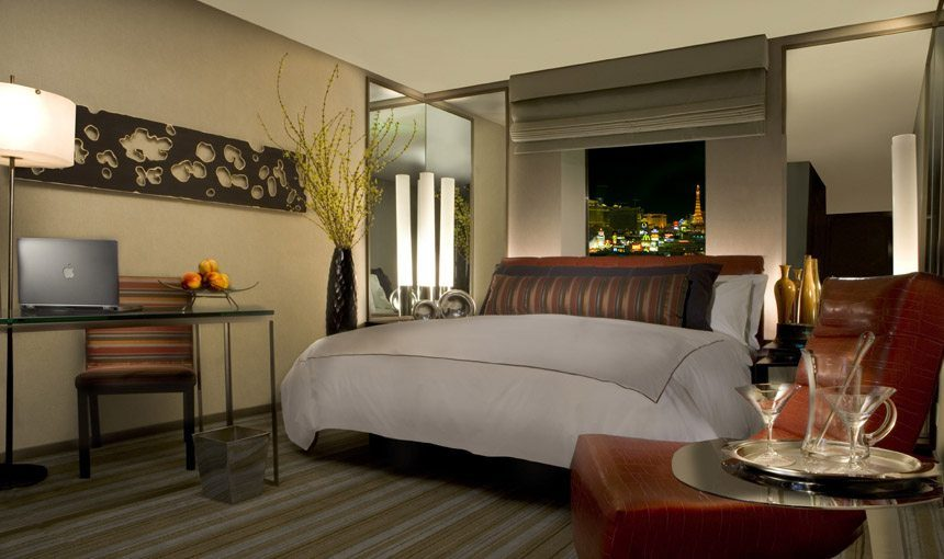 MATT construction MGM Grand Hotel Interior Guest bedroom