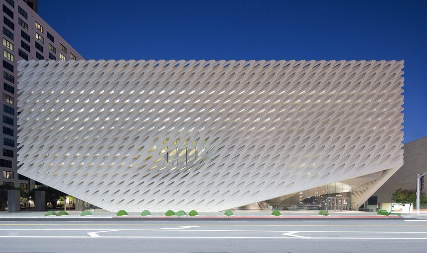 MATT construction The Broad Museum Exterior Front Veil