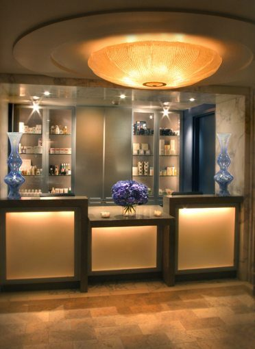 MATT construction Peninsula Hotel Spa Interior Reception