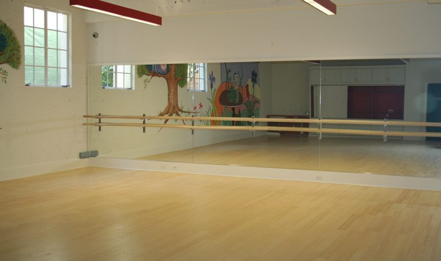 MATT construction San Roque School Interior Dance Studio