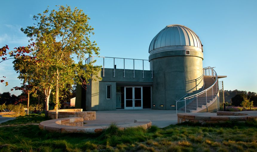 matt construction WEstmont College Observatory Exterior Front Entrance