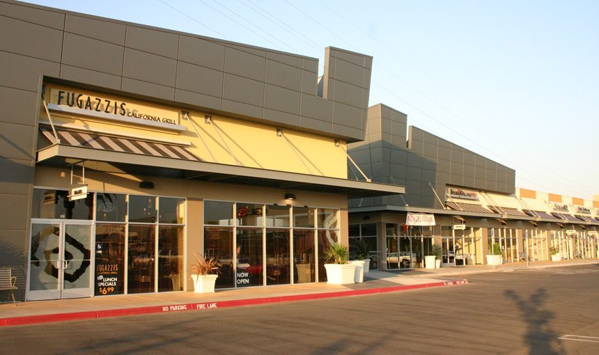 MATT construction Park Place Fresno Retail Exterior California Grill