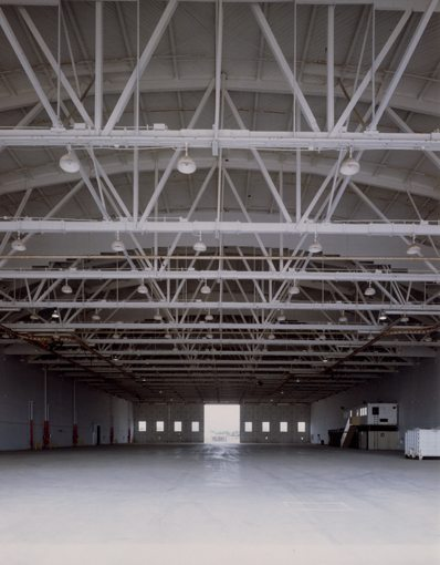 Van Nuys Airport Hangars Interior Front MATT Construction