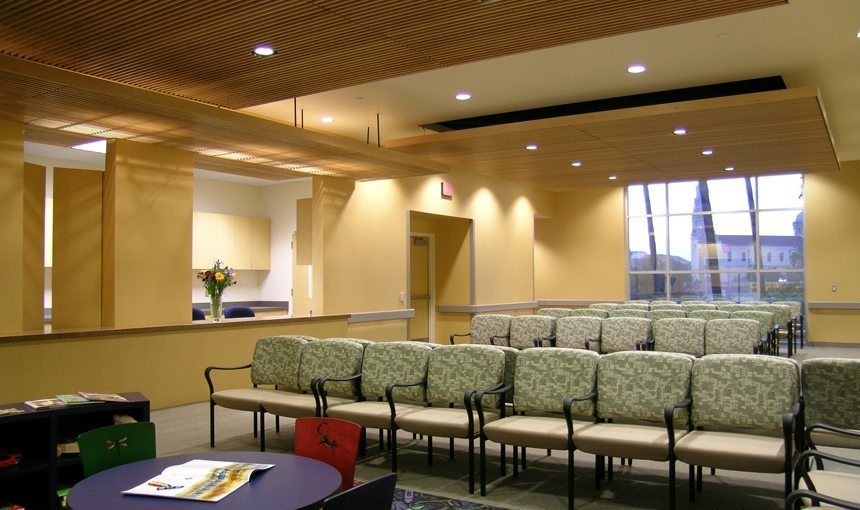 MATT construction Orthopaedic Hospital Outpatient Medical Center Interior Waiting Room