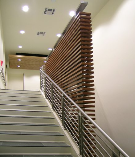 MATT construction Orthopaedic Hospital Outpatient Medical Center Interior Stairs