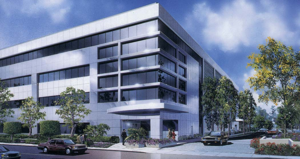 201 North Douglas Exterior Entrance Rendering MATT Construction