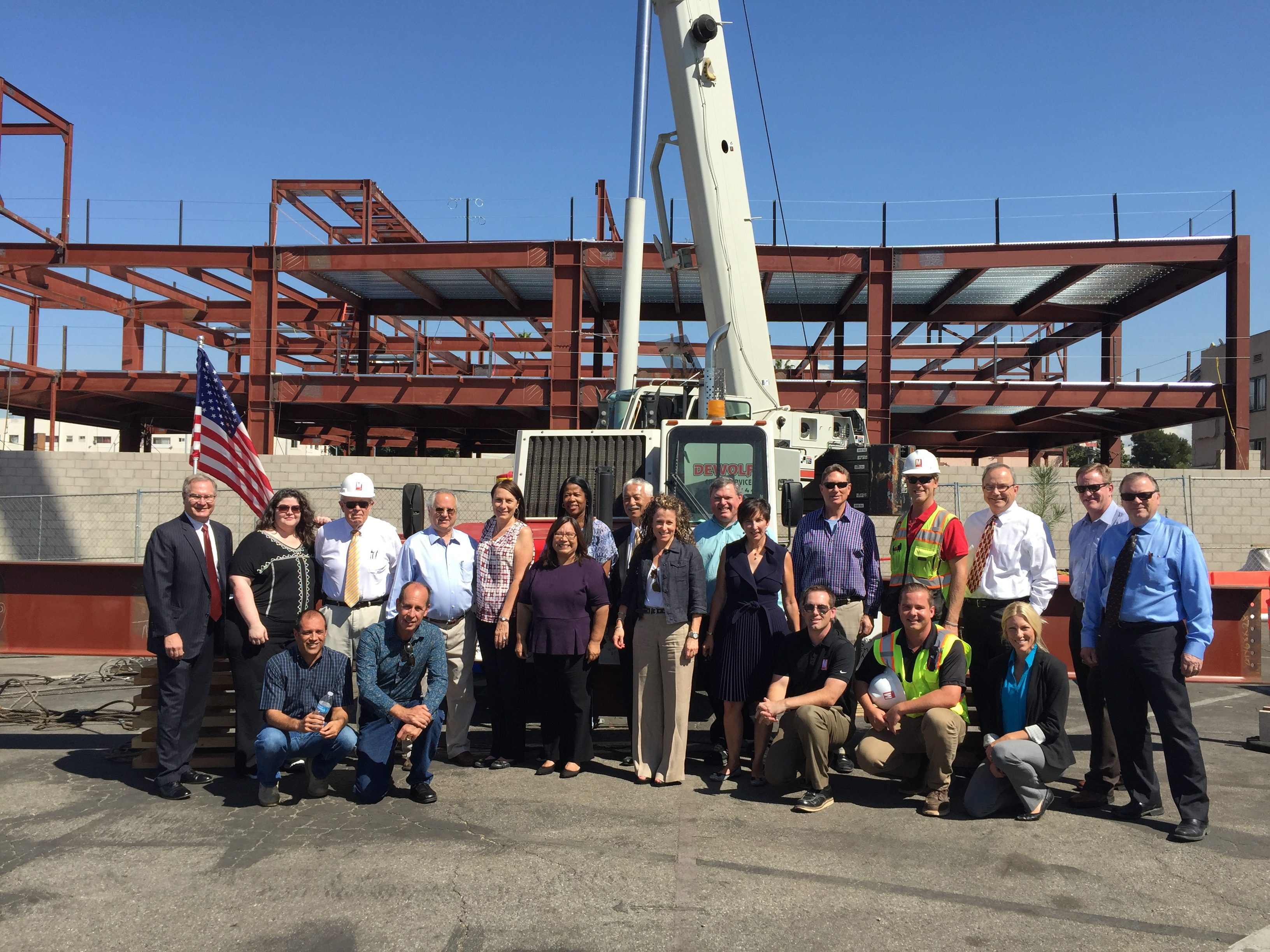 Legal Aid Foundation of Los Angeles Topping Out Ceremony