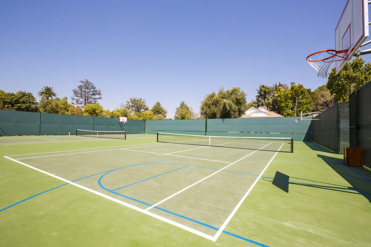 Marlborough School Arden Project Basketball and Tennis Courts