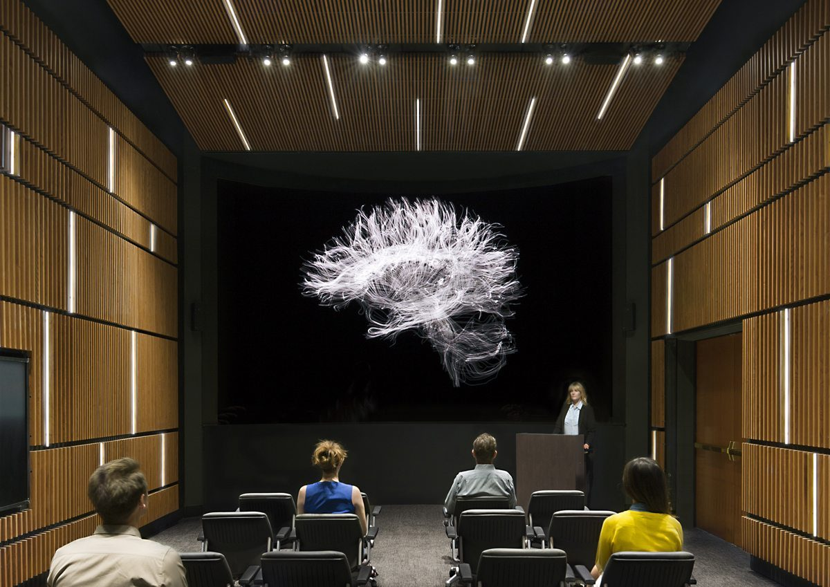 USC Stevens Hall Mark and Mary Stevens Neuroimaging and Informatics Institute DIVE Theater