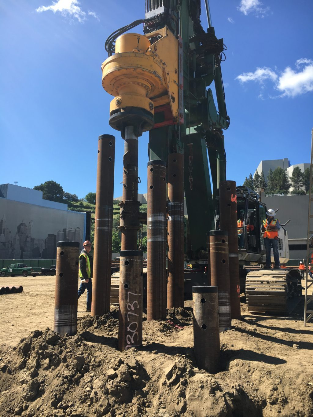 NBCU Area 51 Port Down Piles Drilling