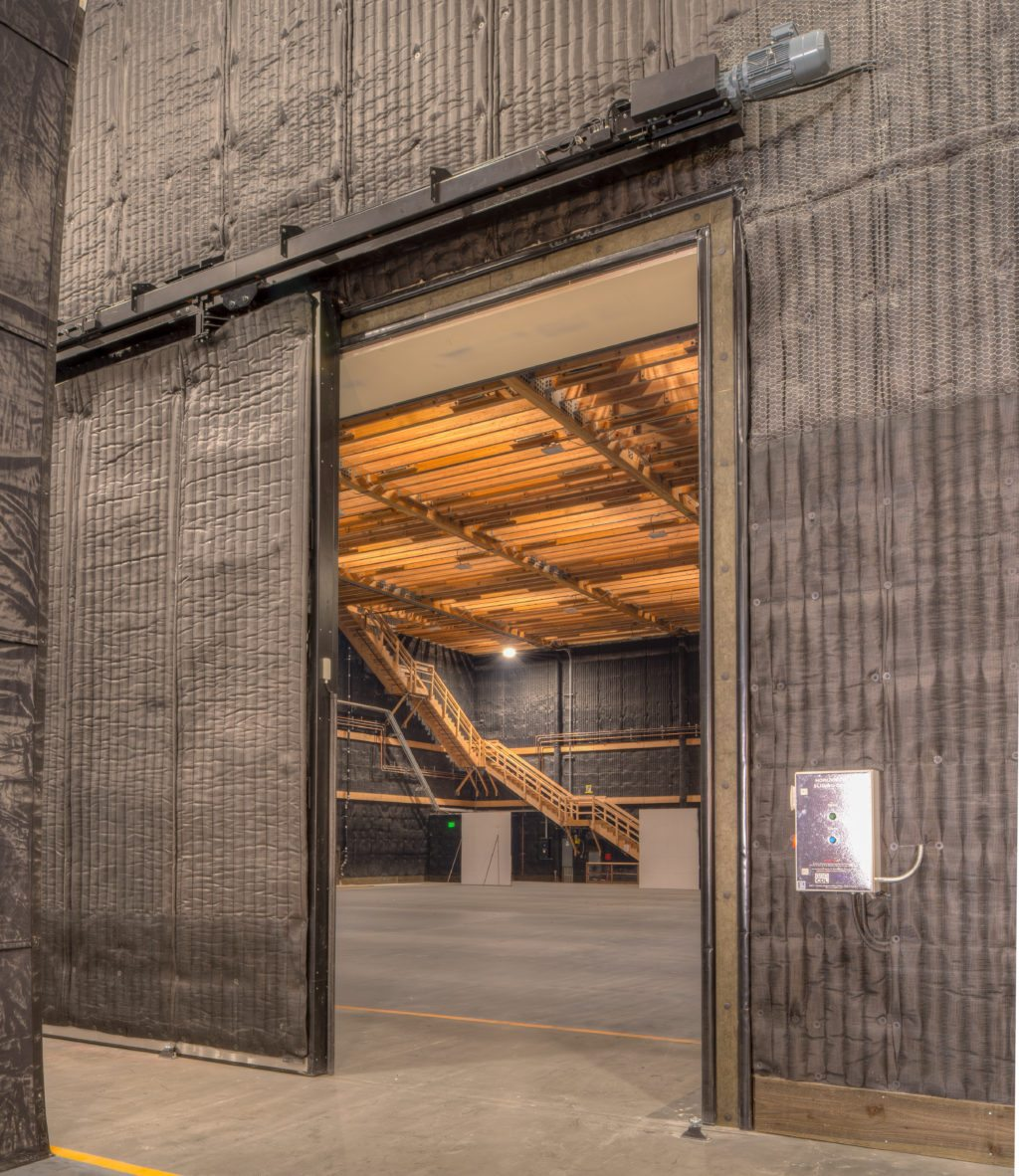 NBCU Area 51 Sound Stage and Production Interior Elephant Doors