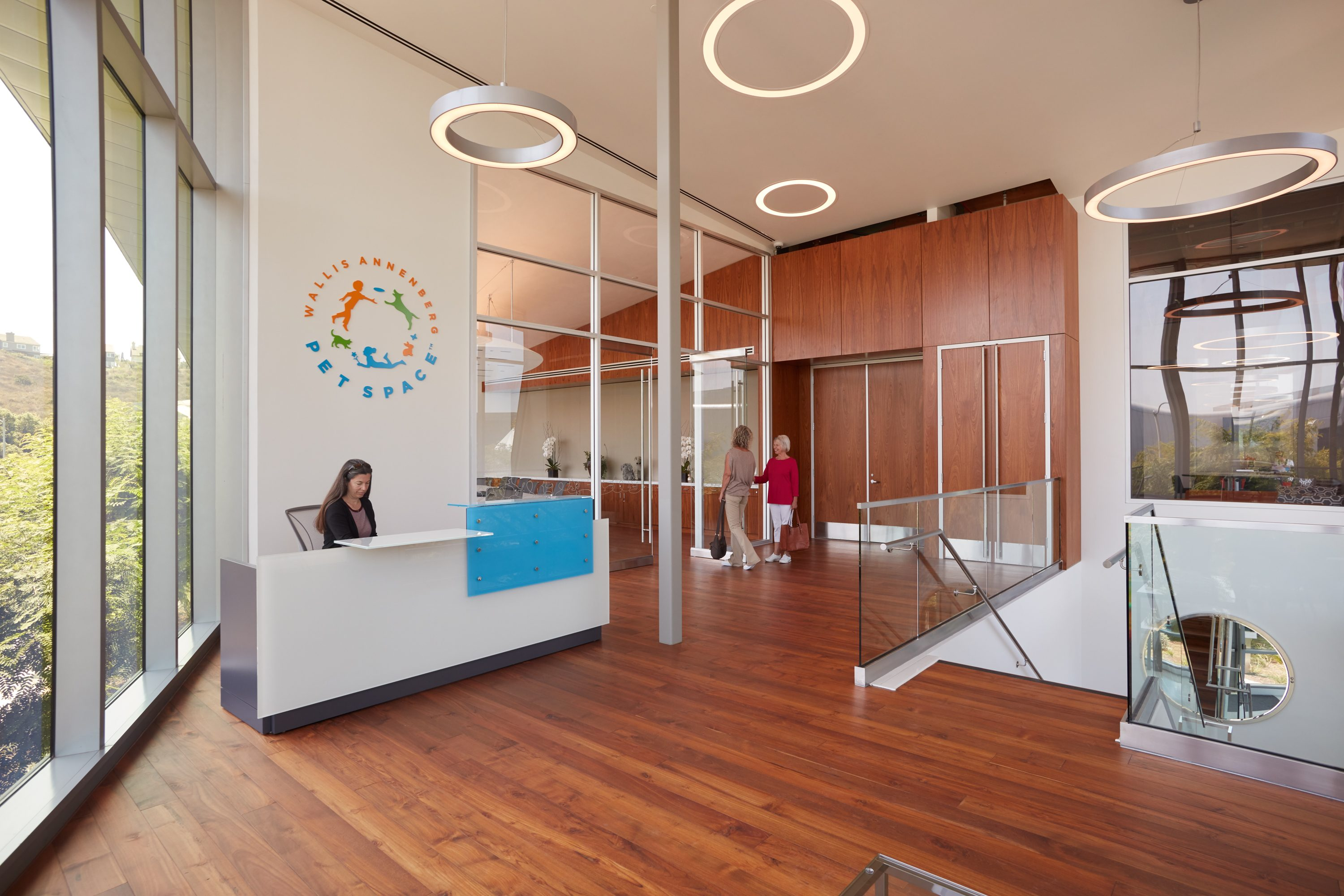 MATT construction Annenberg Playa Vista PetSpace Interior offices