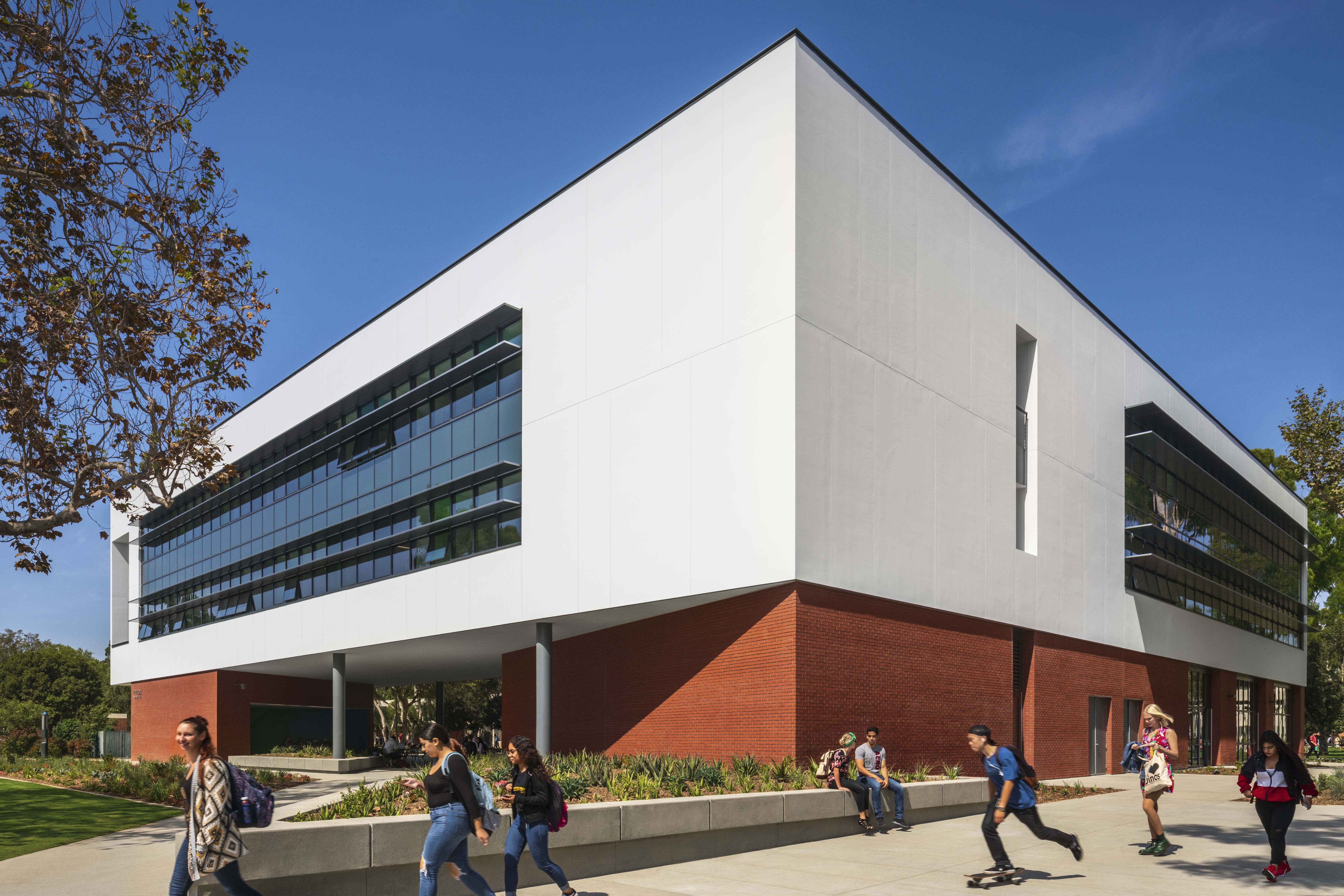 CCPE College of Continuing and Professional Education at California State University Long Beach. CSULB MATT Construction exterior