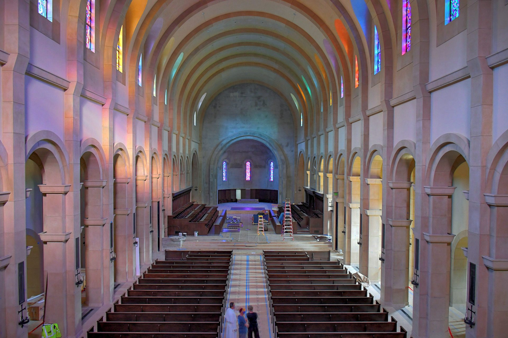 st. michael's abbey interior