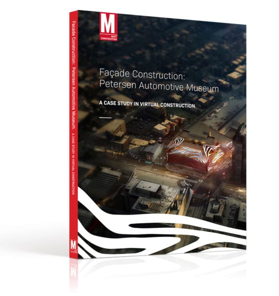 ebook facade construction petersen automotive museum virtual construction BIM MATT construction