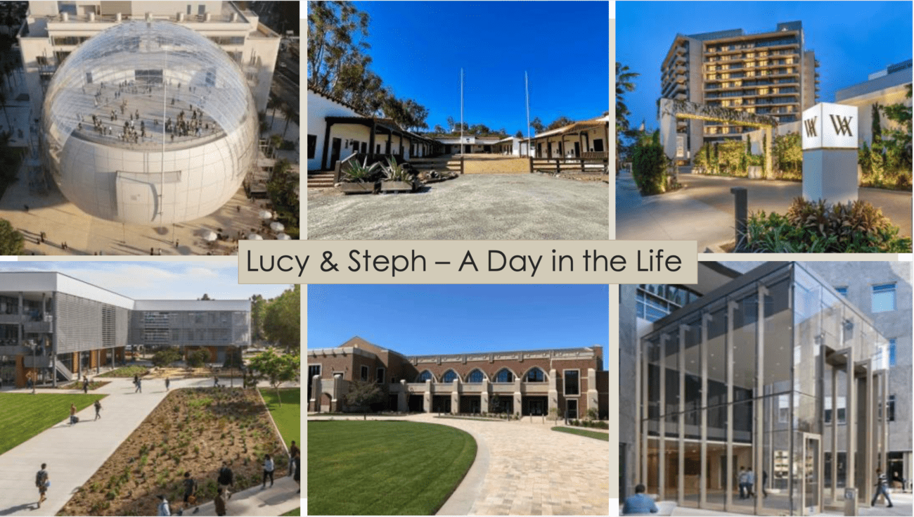A Day in the Life with Lucy and Stephanie
